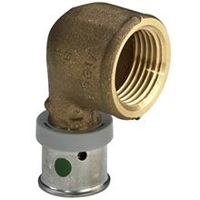 Cot bronz M x Fi - 4714.1 - Viega - imbinare prin presare Viega Pexfit PRO