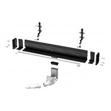 Advantix Vario - scurgere de perete cu lungime reglabila 300-1200mm - 736552 - Viega - Rigole de dus