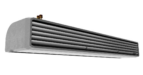 ELIS T - Perdea de aer pentru spatii industriale si spatii comerciale - Flowair - depozite - spatii comerciale - perdea de aer montaj vertical - perdea de aer electrica - perdea de aer pe apa - perdea de aer incastrata