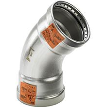 Curba la 45° MM - 2326XL - viega sanpress inox - tevi si fitinguri cu imbinare prin presare