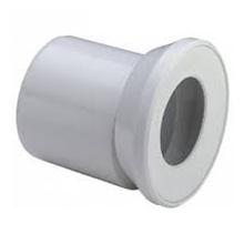 Racord excentric pentru vase WC din plastic alb - 103231 - Viega - Coturi si racorduri pentru vase WC