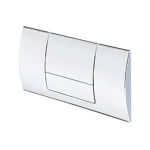 Clapeta de actionare Standard 1 - 449001 - alb alpin, cromat, cromat mat, finisaj inox, module pentru montaj ingropat Viega