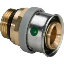 Conector bronz - 4737 - Tevi PEX-AL-PEX si fitinguri imbinare prin presare VIEGA PEXFIT PRO - Technova