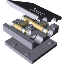 Racord in cruce - alama - 4749 - Tevi PEX-AL-PEX si fitinguri imbinare prin presare VIEGA PEXFIT PRO - Technova