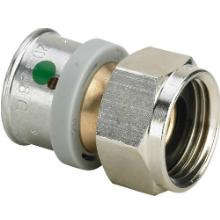 Racord olandez bronz - 4763 - Tevi PEX-AL-PEX si fitinguri imbinare prin presare VIEGA PEXFIT PRO - Technova