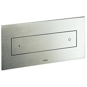 Clapeta de actionare Visign for Style 12 - 596743 - alb alpin, cromat, cromat mat, finisaj inox, matuit, Viega, module pentru montaj ingropat