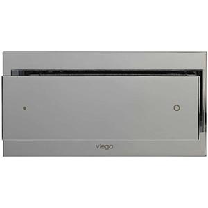 Clapeta de actionare Visign for More 102 - 597504 - cromat, cromat mat, finisaj inox, Viega, module pentru montaj ingropat