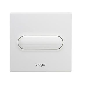 Set de echipare Visign for Style 11 pentru pisoar - 598501 - Viega - actionare manuala - alb alpin - cromat - cromat mat - finisaj inox