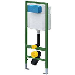 Element pentru vasul WC ECO - 606688 - Viega - module pentru montaj ingropat