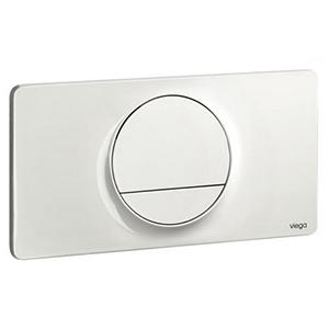 Clapeta de actionare Visign for Style 13 - 654498 - alb alpin, cromat, cromat mat, finisaj inox, Viega, module pentru montaj ingropat