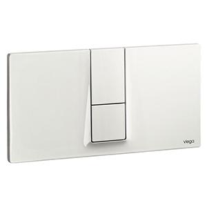 Clapeta de actionare Visign for Style 14 - 654689 - alb alpin, cromat, cromat mat, finisaj inox, Viega, module pentru montaj ingropat
