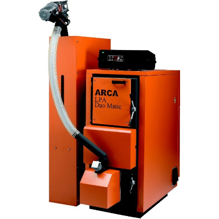 LPA DUO MATIC - Cazan cu combustibil solid - Arca
