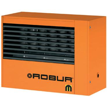 Aeroterma pe gaz - Seria M - Robur - aeroterma pe gaz cu arzator atmosferic on/off din inox si ventilator axial