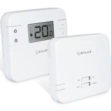 Termostat neprogramabil SALUS cu radio comanda RT310RF
