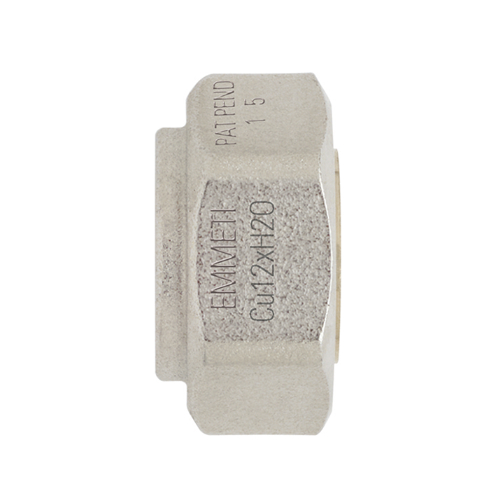 Racord monobloc pentru teava Cu 15 - Emmeti 01321415 - Technova - Technova Invest - Robineti pentru radiatoare