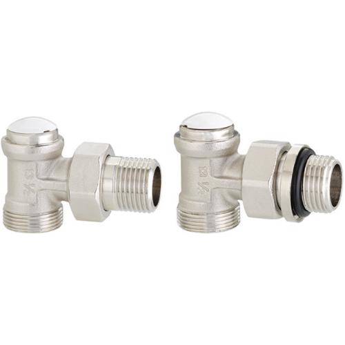 "Robinet retur coltar FULL cu Fe ½"" - Emmeti 01350702 - robineti pentru radiatoare - technova - technova invest"