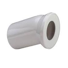 Cot de scurgere la 22.5˚ pentru vase WC din plastic alb - 101855 - Viega - Coturi si racorduri pentru vase WC