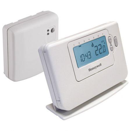 Cronotermostat de ambient programabil fara fir Honeywell CMT727 – CMT727D1016