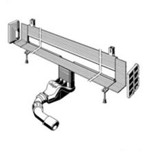 Advantix Vario - scurgere de perete cu lungime reglabila 300-1200mm - 736736 - Viega - Sifoane si rigole