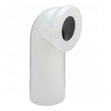 Cot de scurgere la 90˚ pentru vase WC din plastic alb - 100551 - Viega - Coturi si racorduri pentru vase WC