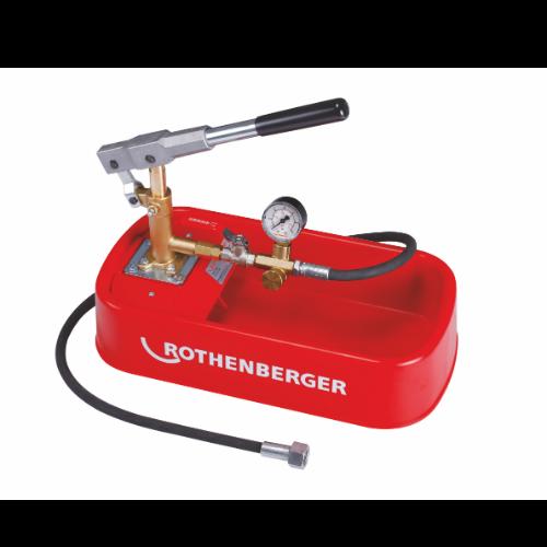 Pompa testare RP30 - Rothenberger - premii - Technova Invest - Campanie cu premii - Premii care muncesc pentru tine - campanie fidelizare instalatori